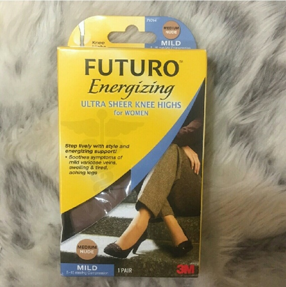 42a5eef96 FUTURO Energizing Ultra Sheer Knee Highs
